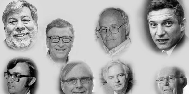 inventores cuarta generacion computadoras