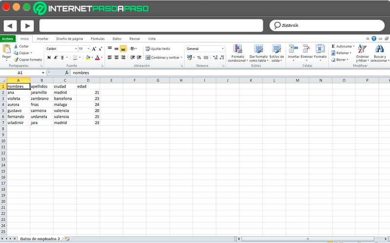 Before opening Excel