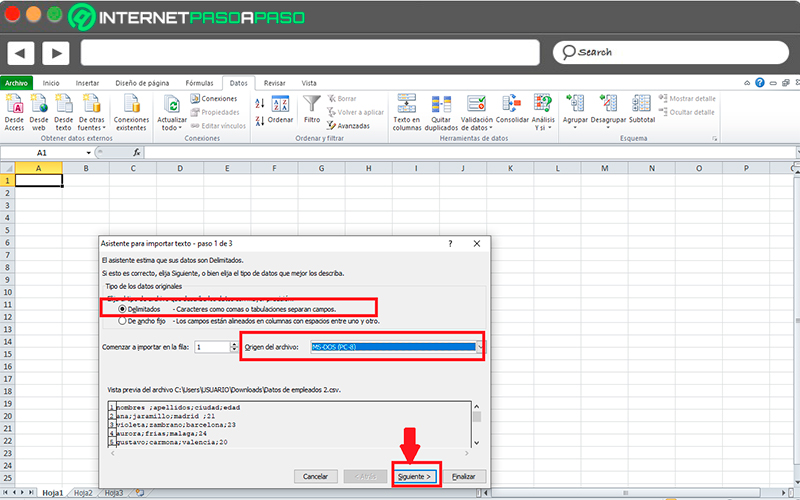 With Open Excel