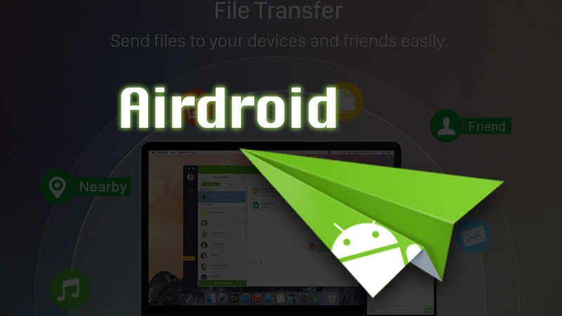 Pass photos with Airdroid
