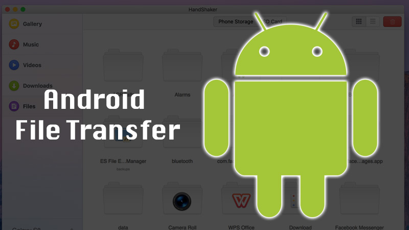Transfer photos from Android to Mac with Android File Transfer