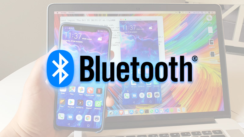 Transfer photos from Android to Mac via Bluetooth