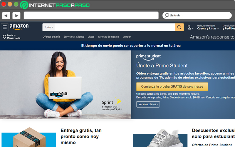 If you are a university student, take advantage of the benefits of Amazon Student
