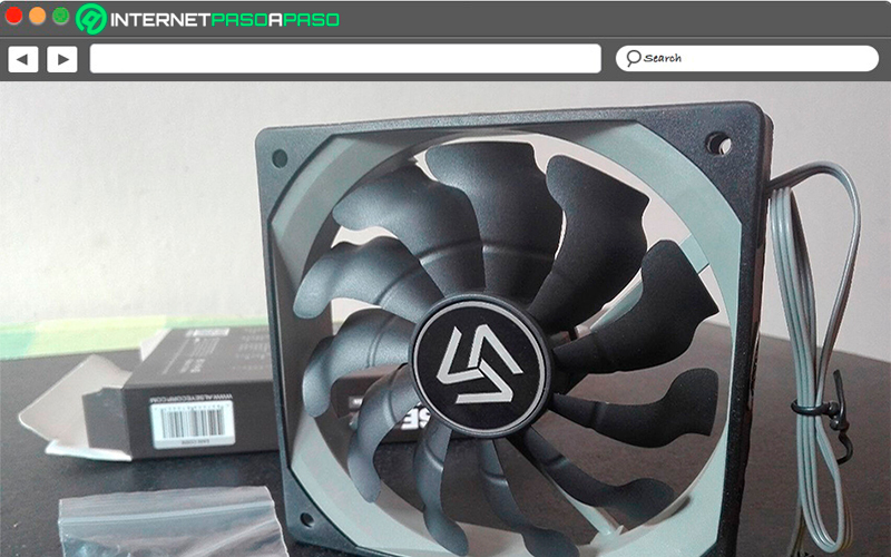 What are the main characteristics of a PC fan?
