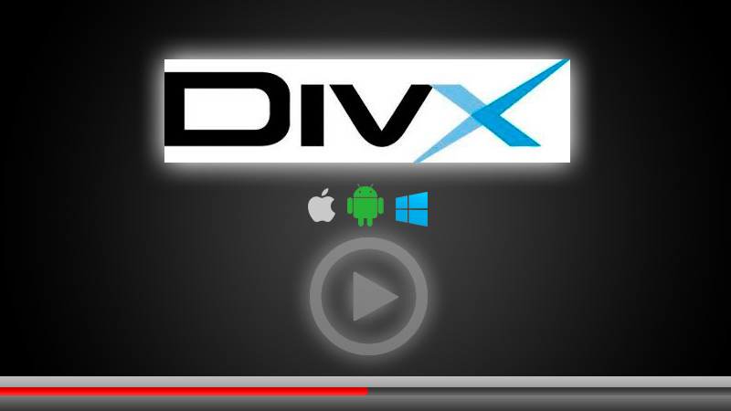 Steps to play audiovisuals in DivX format