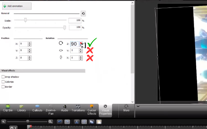 Steps to rotate any video on MacOS without losing Camtasia 02 quality