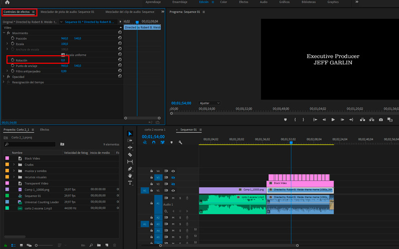 Steps to rotate any video on MacOS without losing Premiere Pro 01 quality