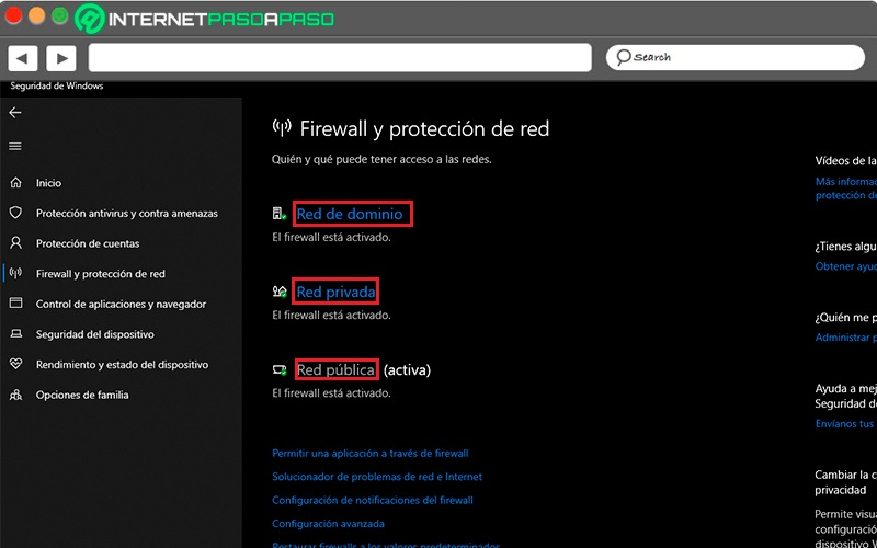 Network activated firewall