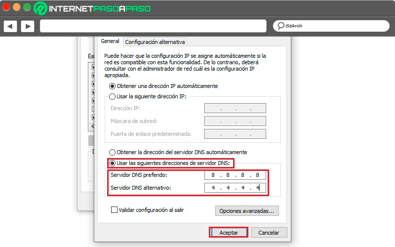 Manual DNS