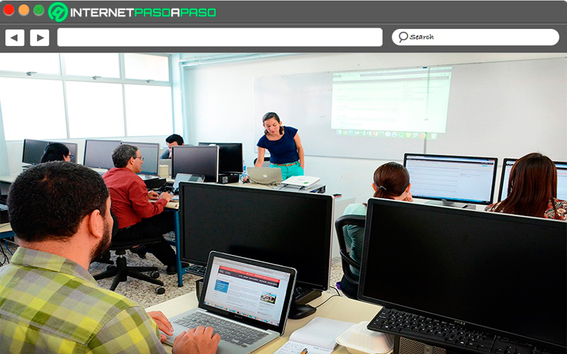 Use of computers at the institutional level