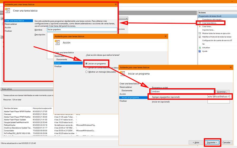 Schedule automatic file deletion