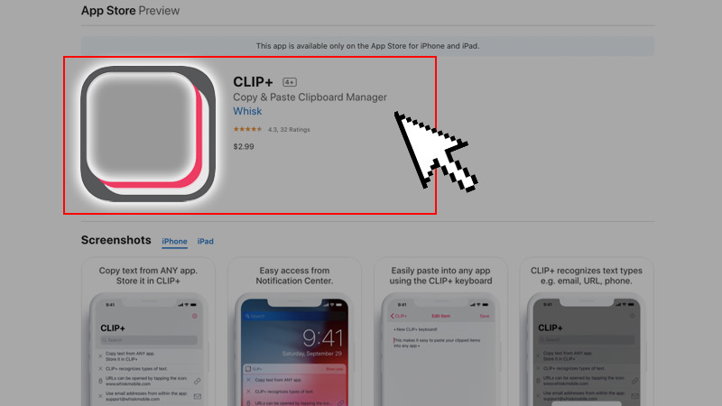 Clip + Clipboard Manager App