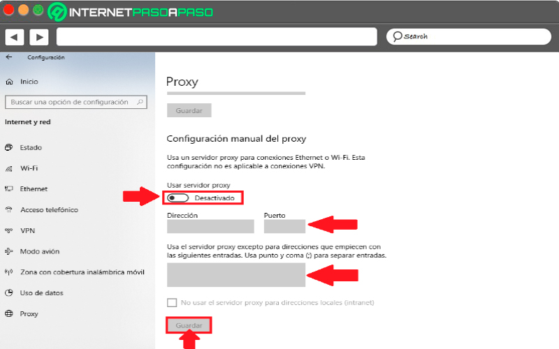 How to configure a proxy server in Windows 10