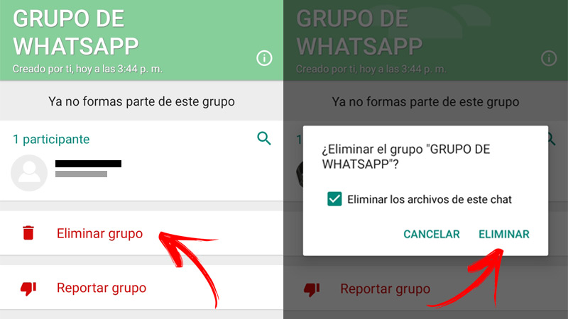 Learn step by step how to leave a WhatsApp group easy and fast