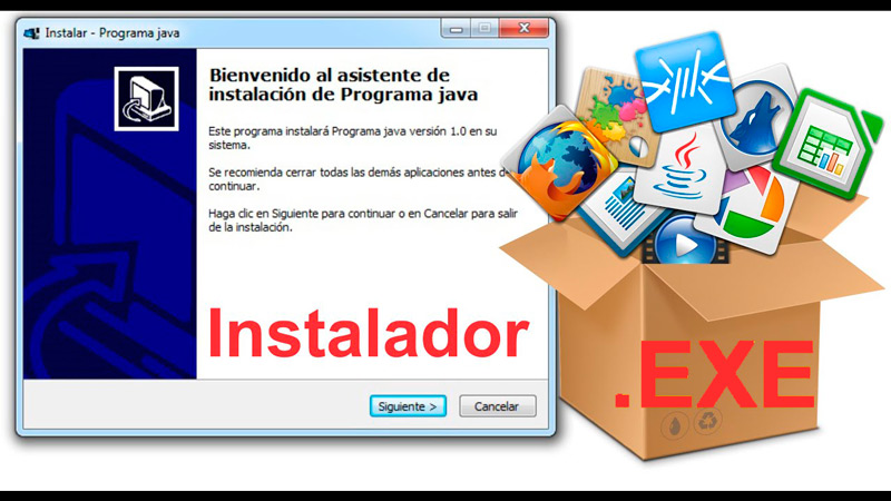 With installer