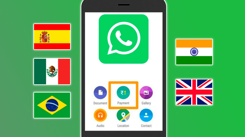 In which countries is the new WhatsApp Pay feature available?