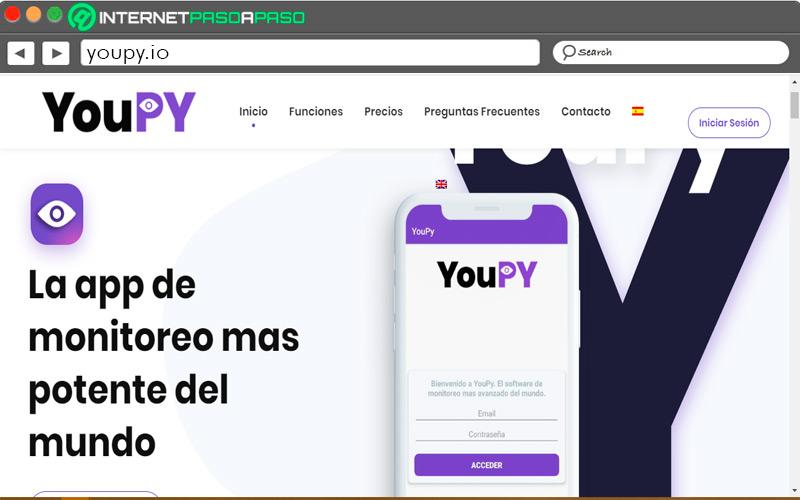 Youpi home page