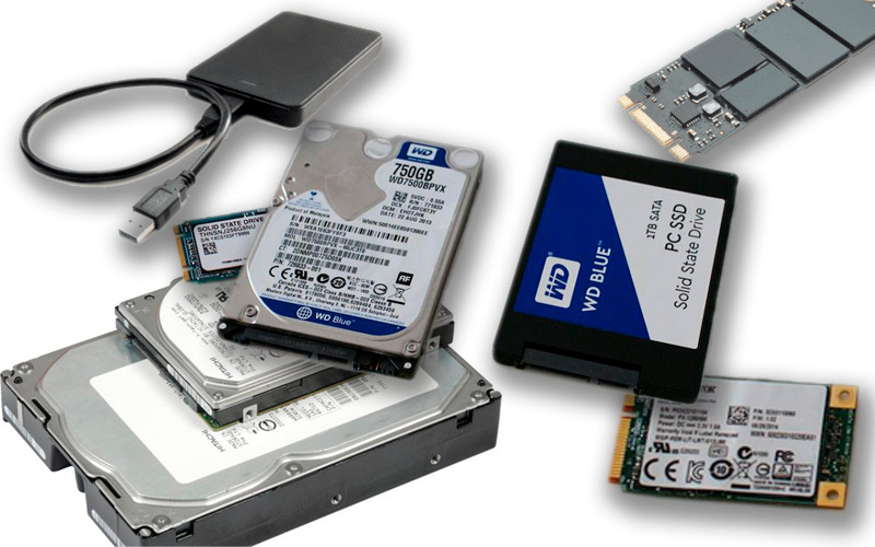 Classification of hard drives What are all the types that exist?