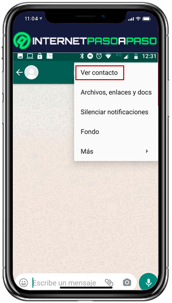 Find out how to remove a contact from your WhatsApp list - see contact