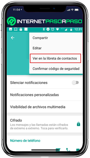 Discover how to delete a contact from your WhatsApp list - see in notebook