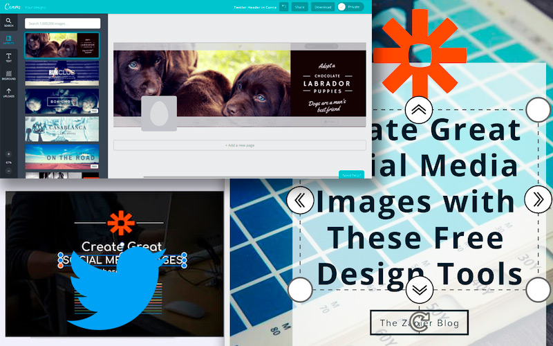 List of the best tools to create original images for Twitter