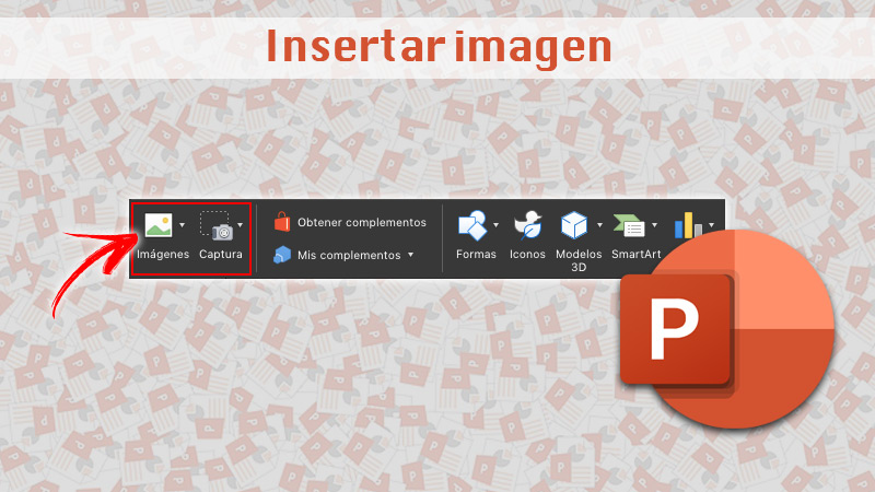 Insert image into PowerPoint