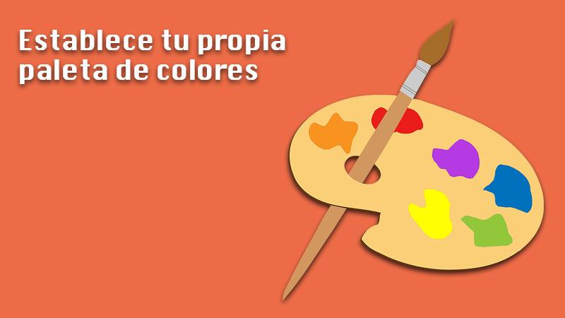 Set your own color palette
