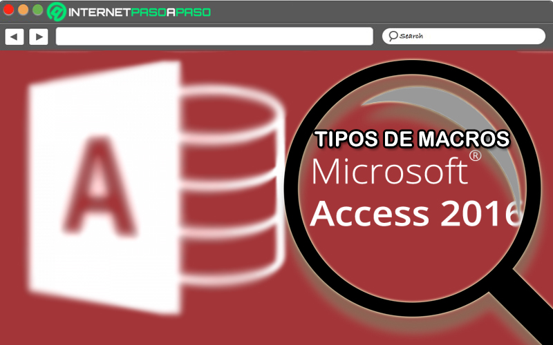 Types of macros in Access What are all those that I can create in a database?