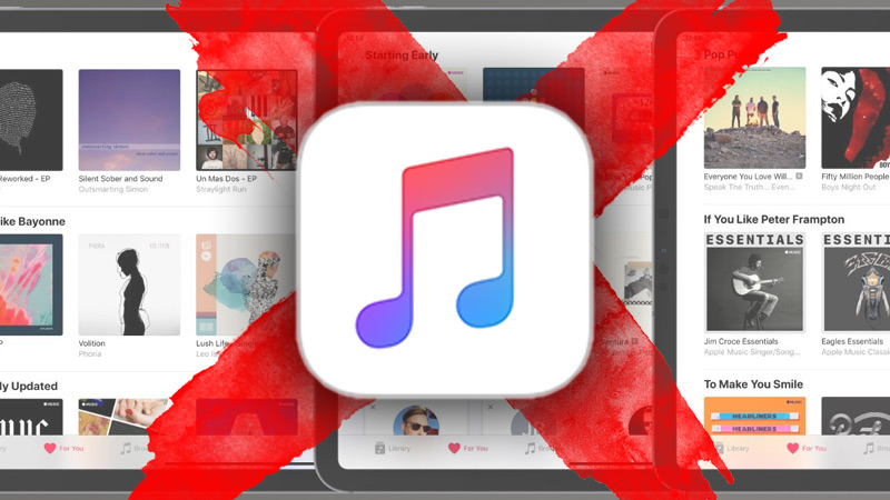 Steps to cancel an Apple Music account