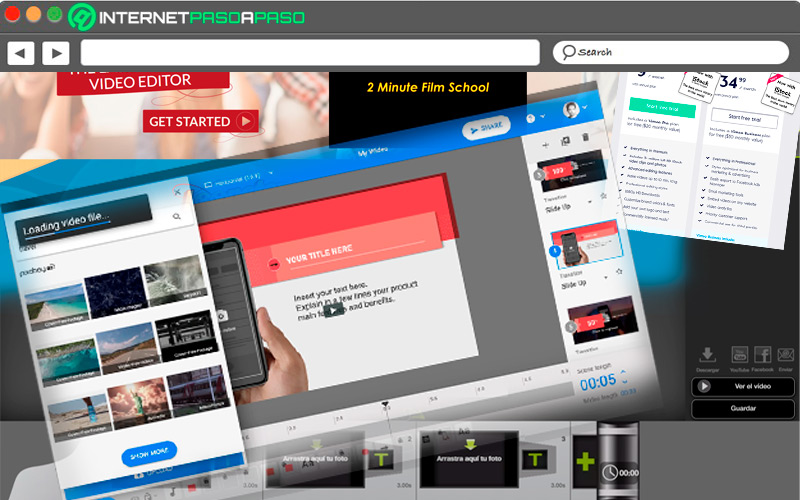 List of the best websites to edit videos and multimedia content online like a pro