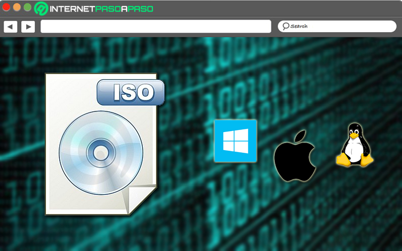 Download the ISO image of the operating system to use
