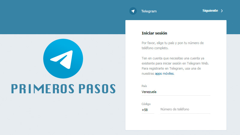 Learn step by step how to take your first steps in Telegram Messenger to understand how it works