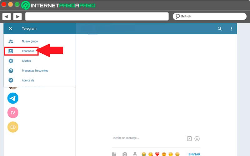 On the Telegram Web