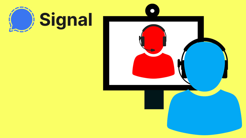Signal to make voice calls