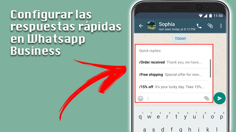 Learn step by step how to configure an autoresponder with automatic responses in WhatsApp Business