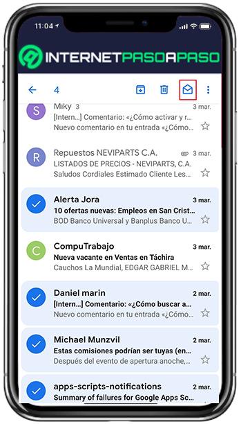 Sur Android et iOS
