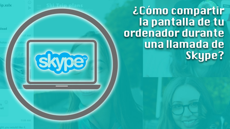 We show you step by step how to share your computer screen during a Skype call