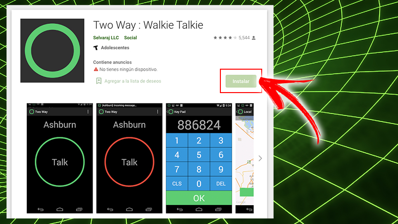Talkie-walkie bidirectionnel