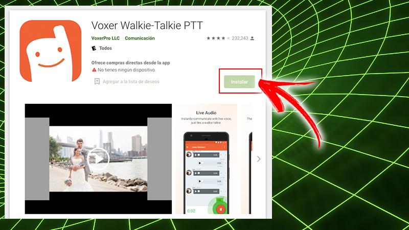 Voxer Walkie Talkie